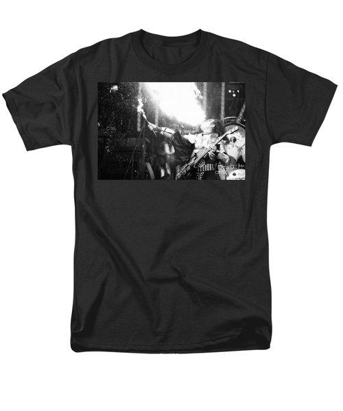 Men's T-Shirt  (Regular Fit) featuring the photograph Flaming Gene by Steven Macanka