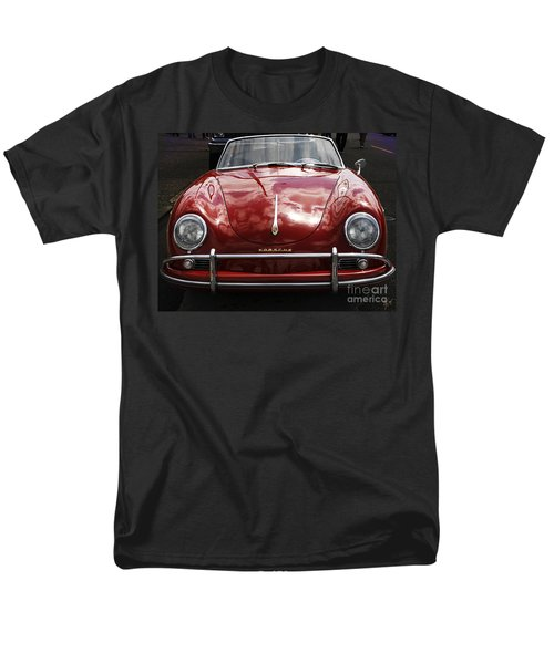 Flaming Red Porsche Men's T-Shirt  (Regular Fit) by Victoria Harrington