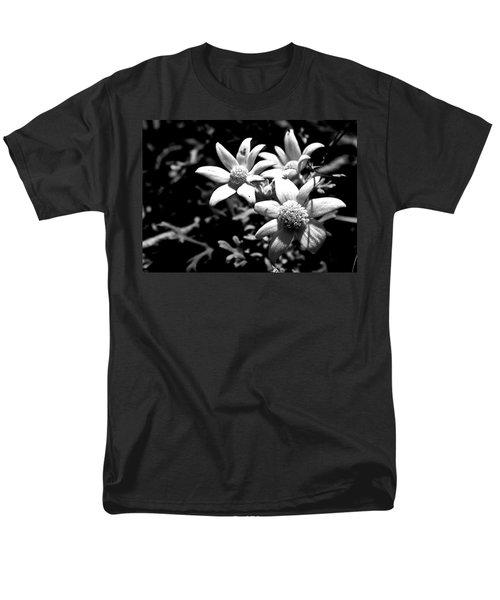 Men's T-Shirt  (Regular Fit) featuring the photograph Flannel Flower by Miroslava Jurcik