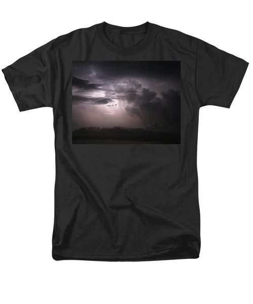 Flashes Of Lightening Men's T-Shirt  (Regular Fit) by Fortunate Findings Shirley Dickerson