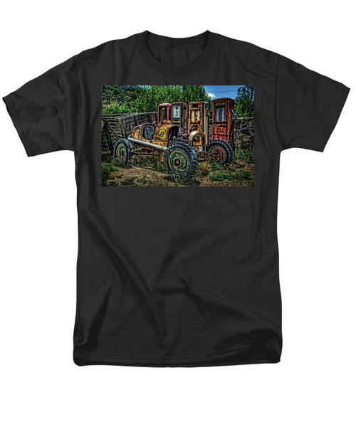 Men's T-Shirt  (Regular Fit) featuring the photograph Flathead Ford Racer by Ken Smith