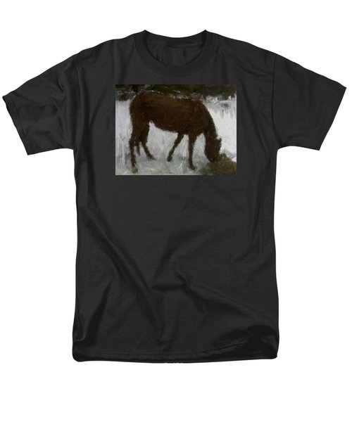 Men's T-Shirt  (Regular Fit) featuring the painting Flicka by Bruce Nutting