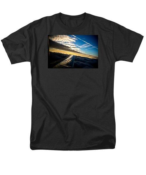 Flight 777 Men's T-Shirt  (Regular Fit) by Joel Loftus