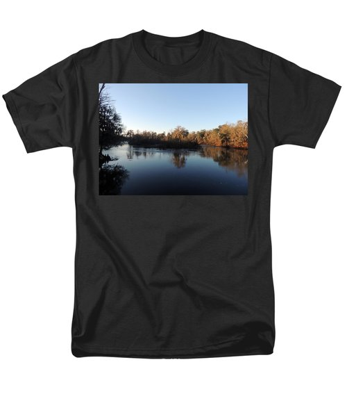 Men's T-Shirt  (Regular Fit) featuring the photograph Flint River 26 by Kim Pate