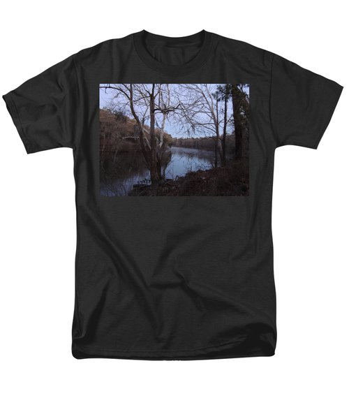 Men's T-Shirt  (Regular Fit) featuring the photograph Flint River 4 by Kim Pate