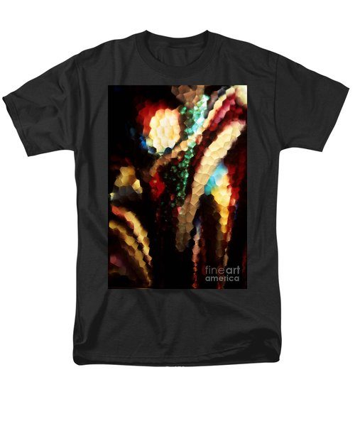 Men's T-Shirt  (Regular Fit) featuring the photograph Floral Abstract I by Sharon Elliott