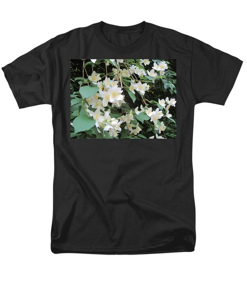 Men's T-Shirt  (Regular Fit) featuring the photograph Floral Cascade by Pema Hou