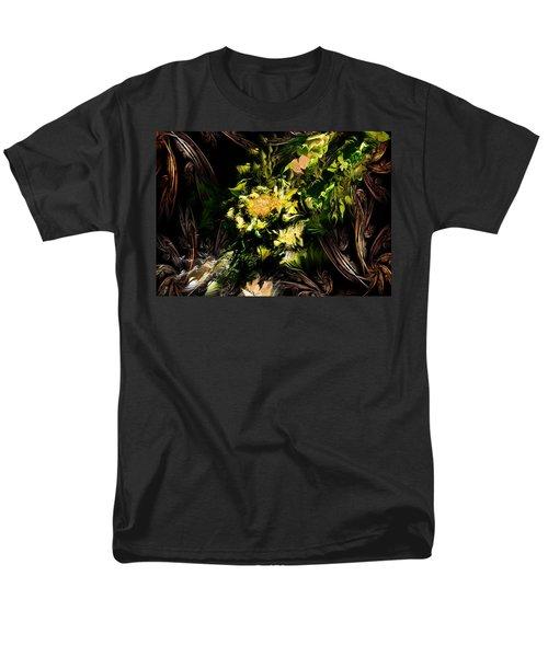 Floral Expression 020215 Men's T-Shirt  (Regular Fit) by David Lane