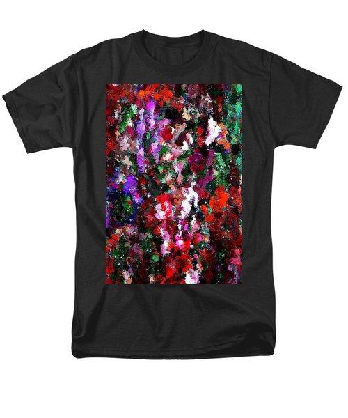 Floral Expression 021015 Men's T-Shirt  (Regular Fit) by David Lane