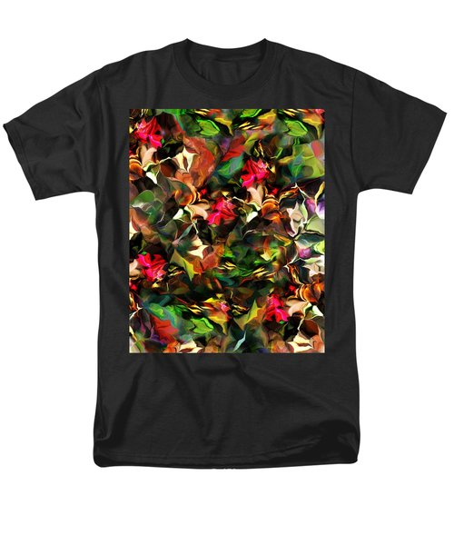 Floral Expression 121914 Men's T-Shirt  (Regular Fit) by David Lane