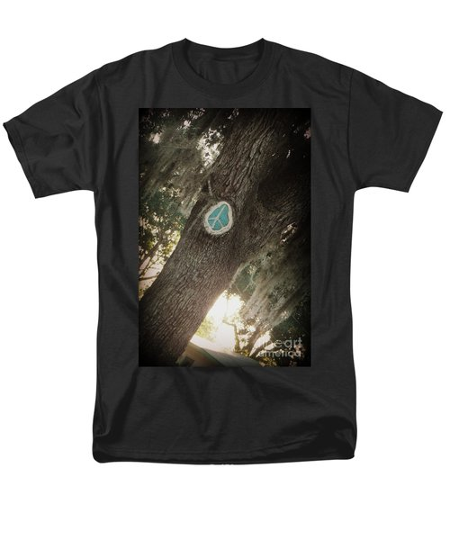 Men's T-Shirt  (Regular Fit) featuring the photograph Florida Peace by Valerie Reeves