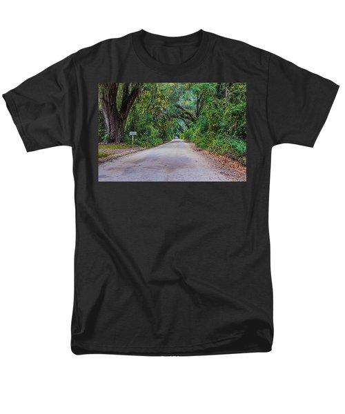 Florida Road Men's T-Shirt  (Regular Fit) by Tom Culver