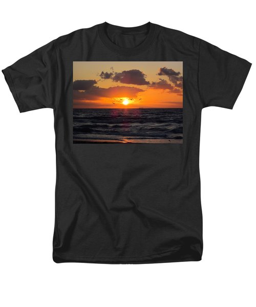 Florida Sunrise Men's T-Shirt  (Regular Fit) by MTBobbins Photography