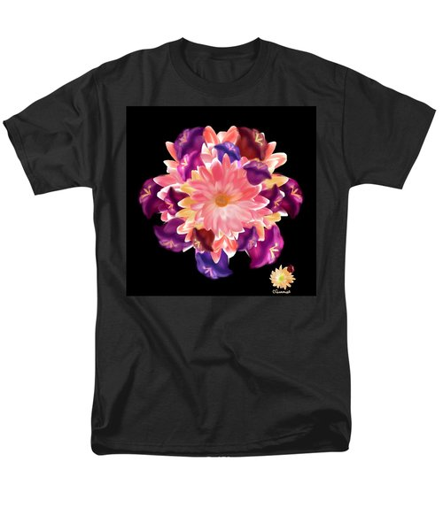 Flower Circle Men's T-Shirt  (Regular Fit)