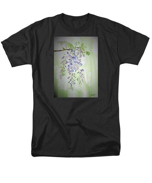 Flowering Wisteria Men's T-Shirt  (Regular Fit) by Elvira Ingram