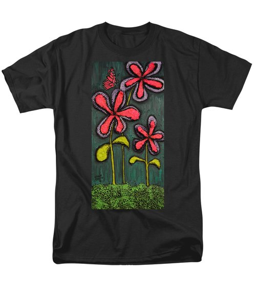 Flowers For Sydney Men's T-Shirt  (Regular Fit) by Shawn Marlow
