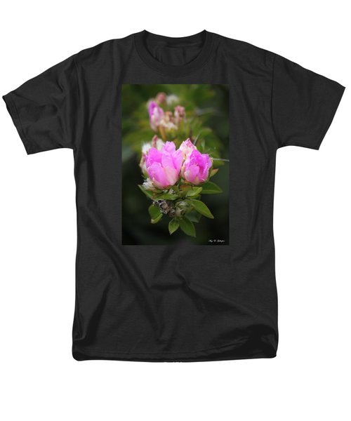 Men's T-Shirt  (Regular Fit) featuring the photograph Flowers For You by Amy Gallagher