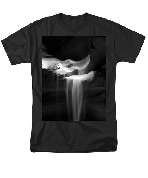 Flowing Sand In Antelope Canyon Men's T-Shirt  (Regular Fit) by Lucinda Walter