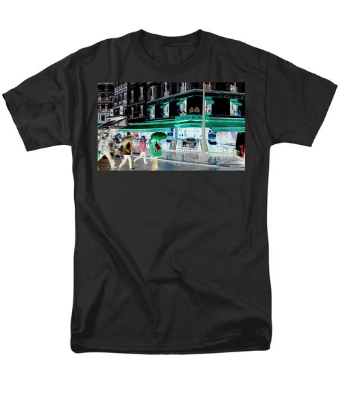 Fluidity In Motion  Men's T-Shirt  (Regular Fit) by Richard Rosenshein