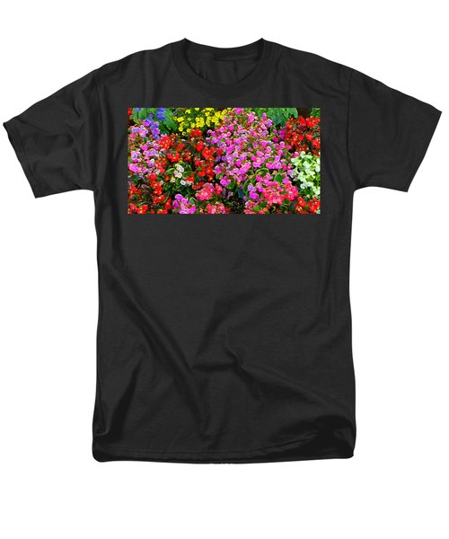 Flwrs Test 1 Men's T-Shirt  (Regular Fit) by Terence Morrissey