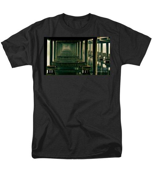 Foggy Morning Under Bridge Men's T-Shirt  (Regular Fit) by Robert Frederick