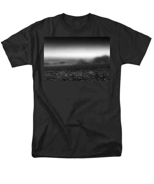 Foggy Field Men's T-Shirt  (Regular Fit) by Tom Gort