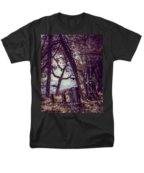 Men's T-Shirt  (Regular Fit) featuring the photograph Foggy Memories by Melanie Lankford Photography