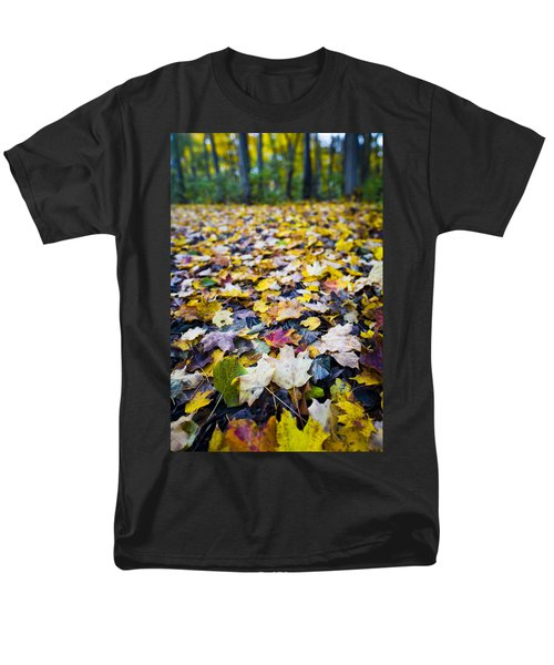 Men's T-Shirt  (Regular Fit) featuring the photograph Foliage by Sebastian Musial