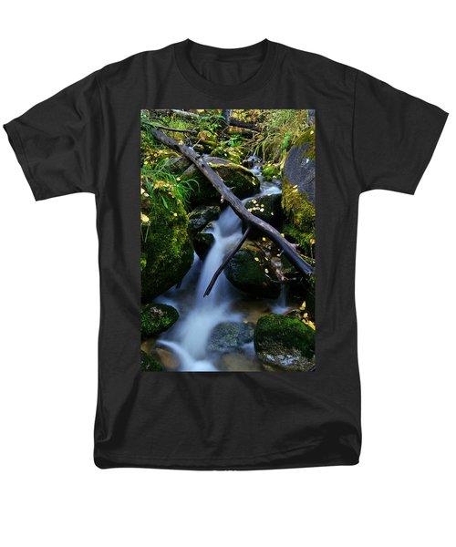 Men's T-Shirt  (Regular Fit) featuring the photograph Follow Me by Jeremy Rhoades