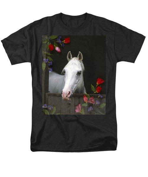 For The Roses Men's T-Shirt  (Regular Fit) by Melinda Hughes-Berland