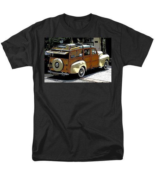 Ford Woodie Men's T-Shirt  (Regular Fit) by Anne Mott