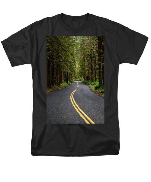 Forest Road Men's T-Shirt  (Regular Fit) by David Andersen