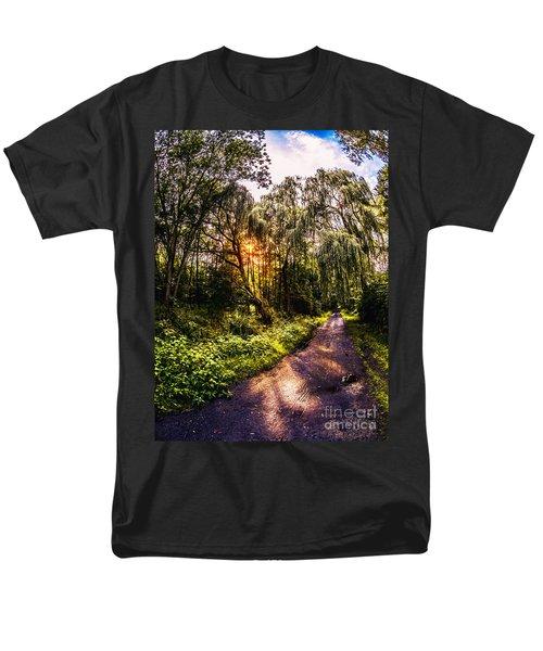 Forest Track Men's T-Shirt  (Regular Fit) by Daniel Heine