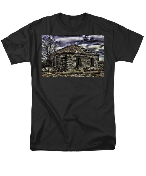 Men's T-Shirt  (Regular Fit) featuring the painting Forgotten by Muhie Kanawati