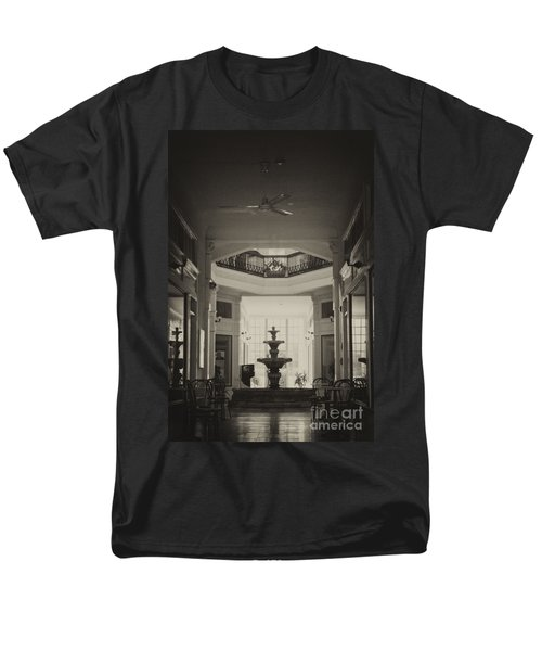 Fountain In The Light Men's T-Shirt  (Regular Fit) by Donna Greene
