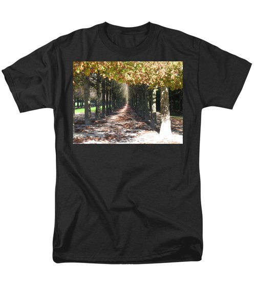 Fountainebleau - Under The Trees Men's T-Shirt  (Regular Fit) by HEVi FineArt