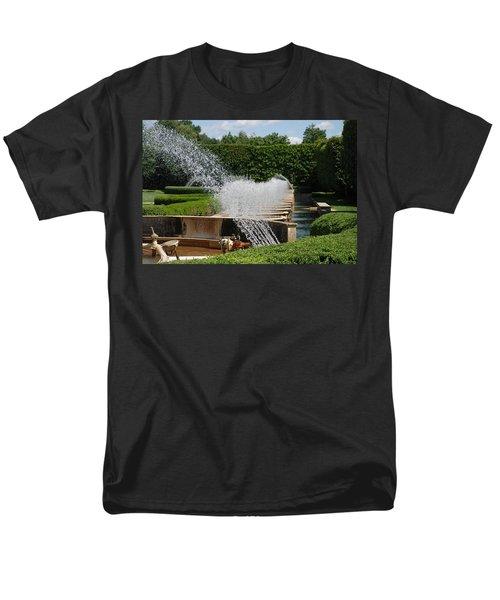 Men's T-Shirt  (Regular Fit) featuring the photograph Fountains by Jennifer Ancker
