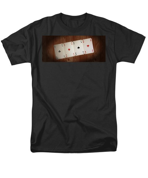 The Four Aces Men's T-Shirt  (Regular Fit) by Daniel Precht
