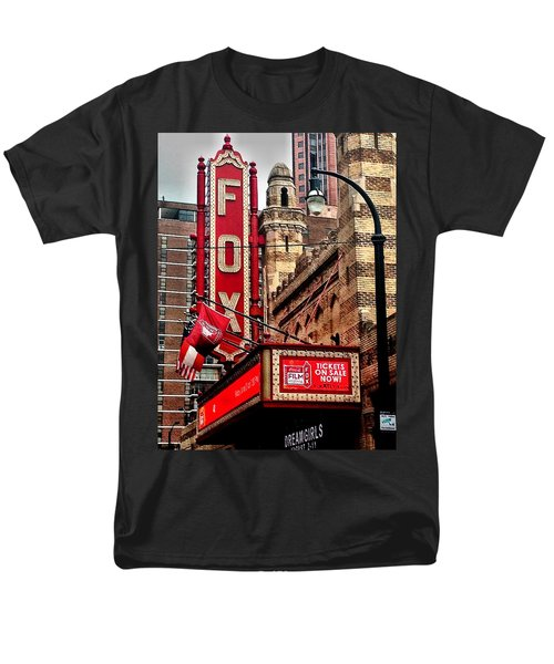 Fox Theater - Atlanta Men's T-Shirt  (Regular Fit) by Robert L Jackson