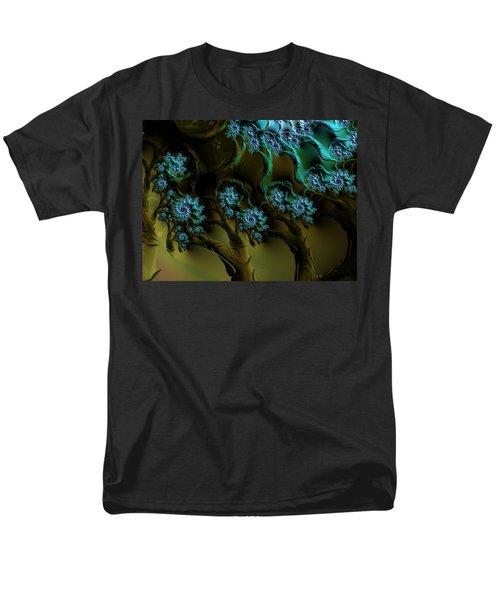 Fractal Forest Men's T-Shirt  (Regular Fit) by GJ Blackman