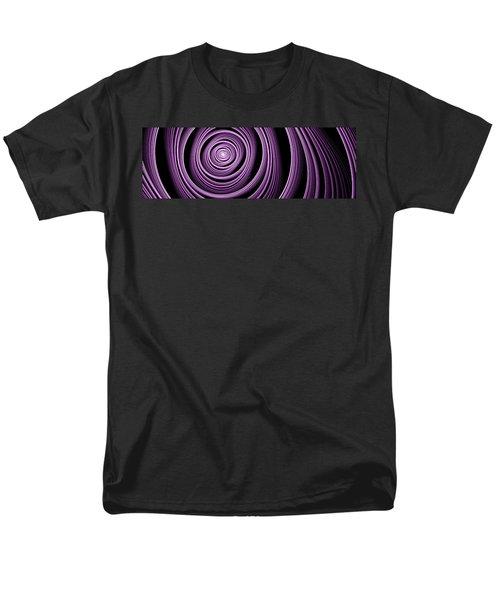 Fractal Purple Swirl Men's T-Shirt  (Regular Fit) by Gabiw Art