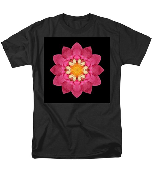 Fragaria Flower Mandala Men's T-Shirt  (Regular Fit)