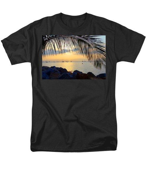 Framed By Fronds Men's T-Shirt  (Regular Fit)