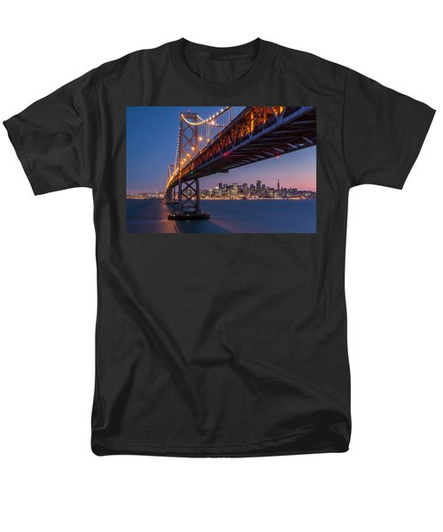 Men's T-Shirt  (Regular Fit) featuring the photograph Framing San Francisco by Mihai Andritoiu