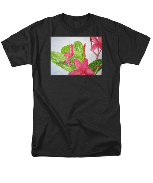 Frangipani Tree Men's T-Shirt  (Regular Fit) by Elvira Ingram