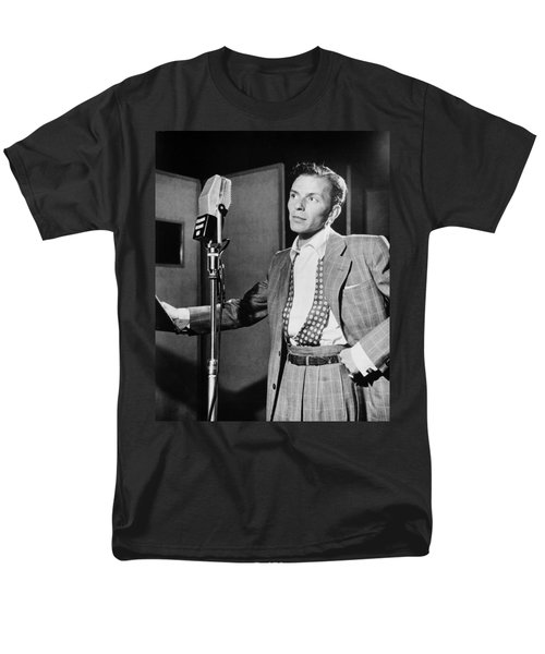 Frank Sinatra Men's T-Shirt  (Regular Fit) by Mountain Dreams