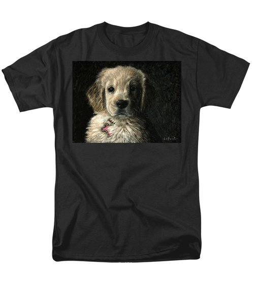 Men's T-Shirt  (Regular Fit) featuring the drawing Freckles by Sandra LaFaut