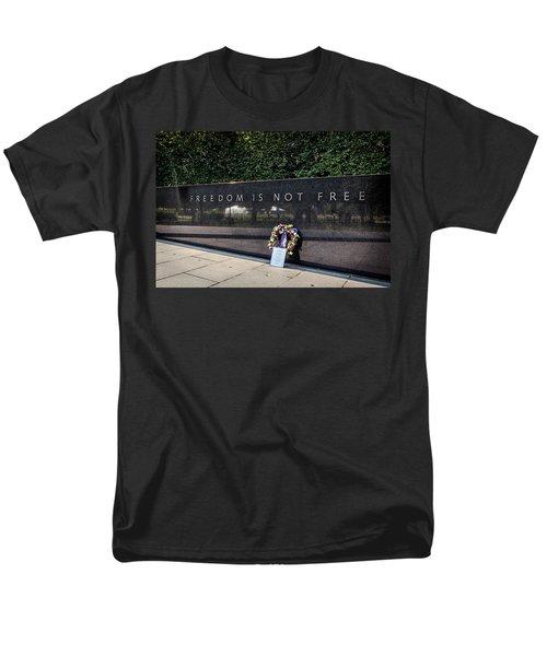 Freedom Is Not Free Men's T-Shirt  (Regular Fit) by Sennie Pierson