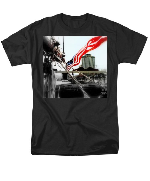 Freedom Sails Men's T-Shirt  (Regular Fit) by Michael Hoard
