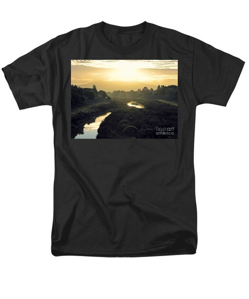 Men's T-Shirt  (Regular Fit) featuring the photograph Fremont Dawn by Ellen Cotton